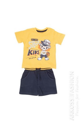 Set t-shirt + short maglina